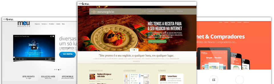 Site Pronto Executivo